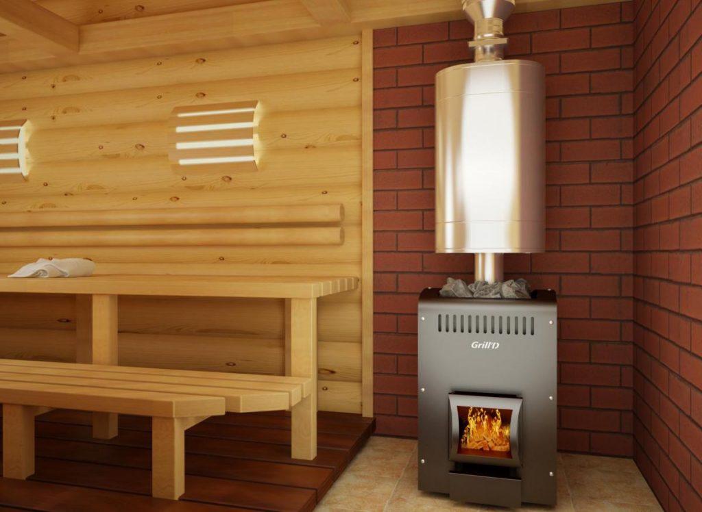 Печь для бани на дровах - как правильно выбрать и стоит ли покупать?