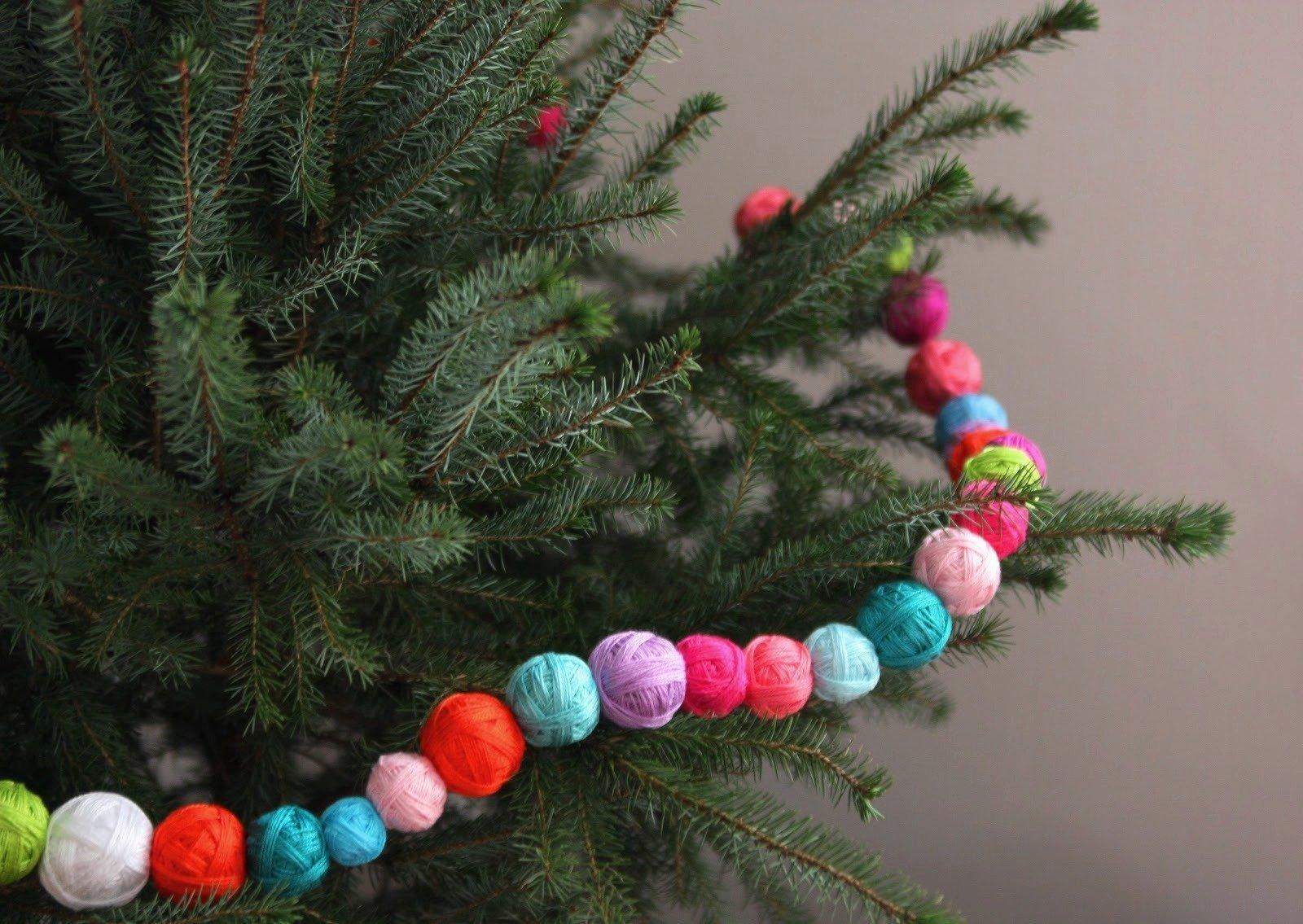 Гирлянда на елку своими руками: мастер-классы изготовления из разных материалов | праздник для всех