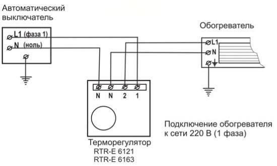 Управление инфракрасными обогревателями с помощью терморегуляторов » сайт для электриков - советы, примеры, схемы