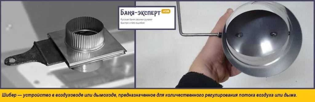 Шибер для дымохода своими руками - чертежи и инструкции