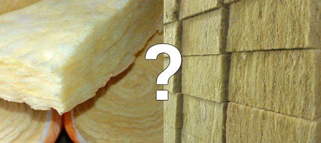 Стекловата и минвата в чем разница? отличия