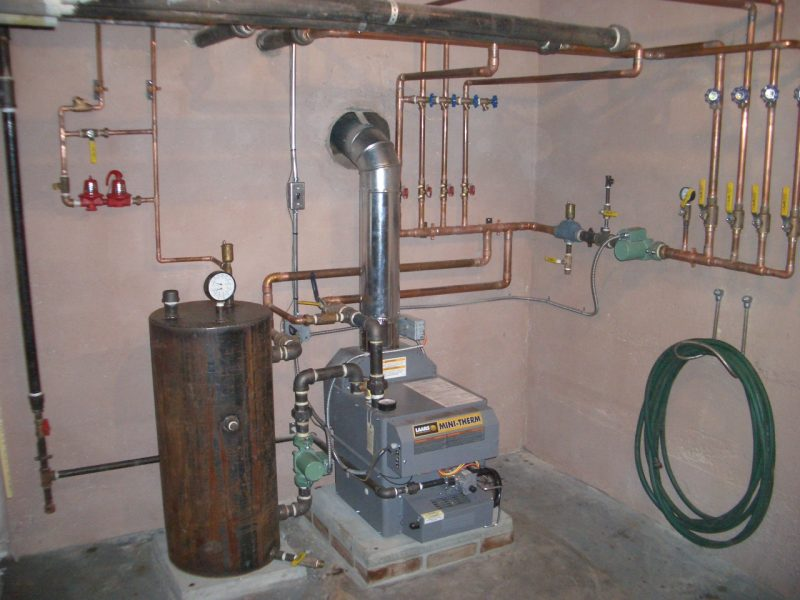 Горячее водоснабжение частного дома