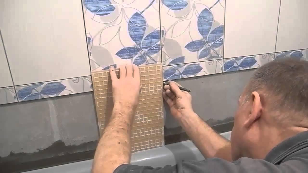 Как обновить старую кафельную плитку в ванной комнате