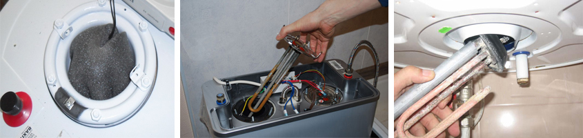 Замена тэна в стиральных машинах hotpoint-ariston: как снять тэн? где находится реле? как поставить новую деталь?