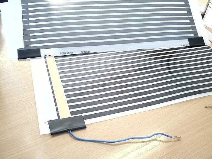 Инфракрасная пленка: пленочный теплый пол, греющая ик лента для отопления, отопительная, обогревательная пленка, термопленка для обогрева пола