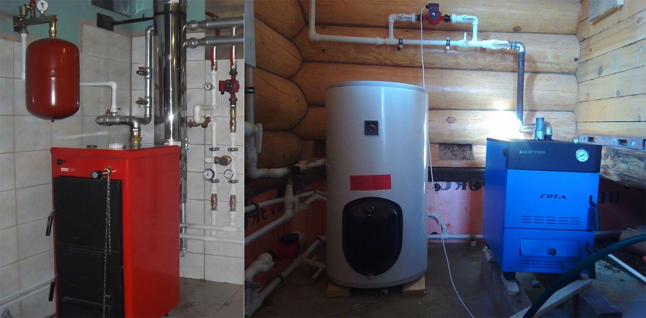 Котлы отопления на твердом топливе - почему для частного дома рекомендуется приобретать именно их?