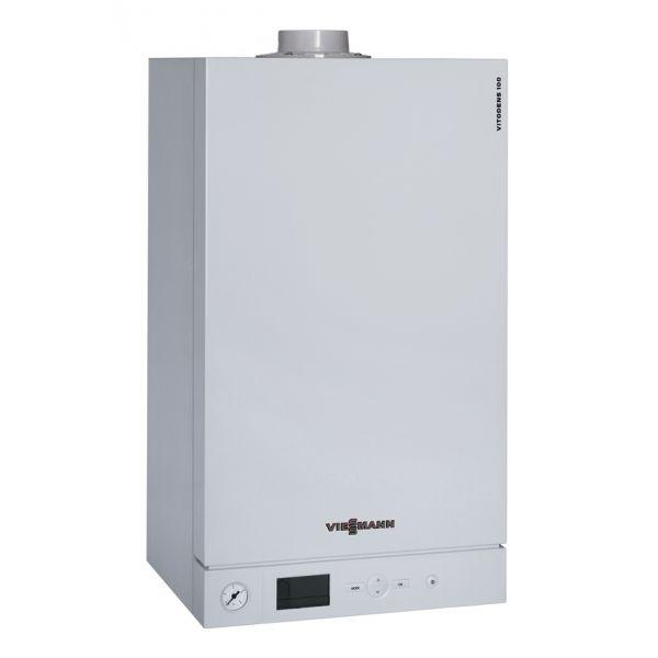 Схема отопления с газовым котлом viessmann для дома до 180кв.м.