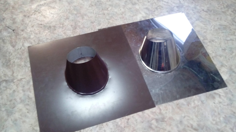 Мастер флеш для дымохода своими руками: виды, конструкции, пошаговая инструкция по установке