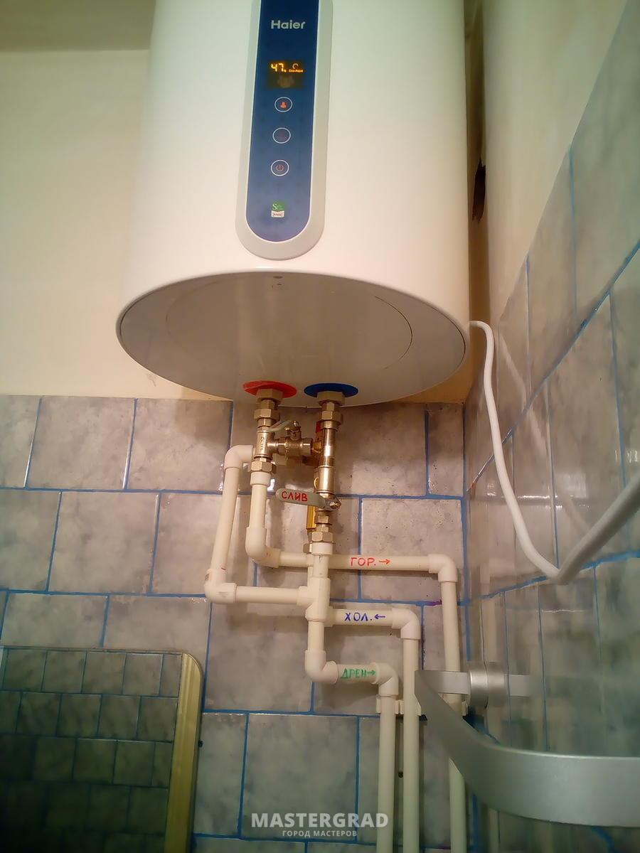 Когда необходимо сливать воду из бойлера