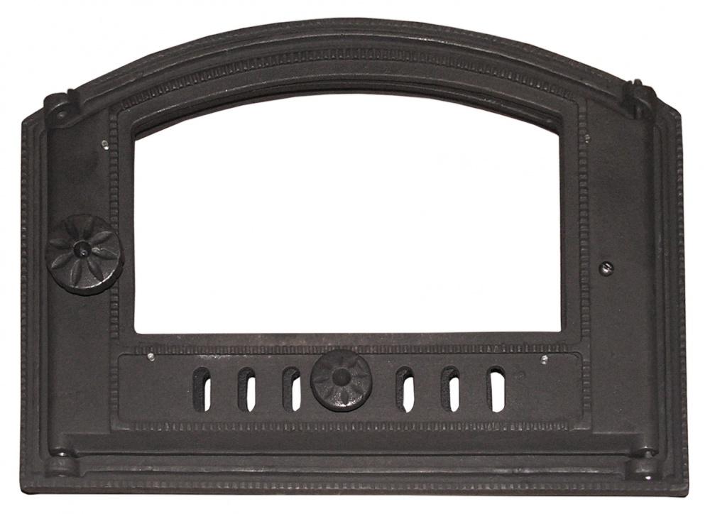 Дверца для камина со стеклом своими руками, алгоритм изготовления