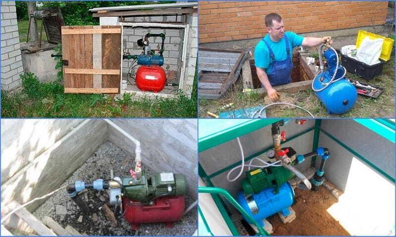 Выбор и установка насосной станции для колодца