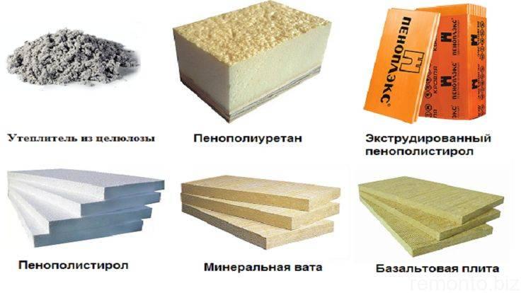 Негорючий утеплитель: обзор, характеристики материалов