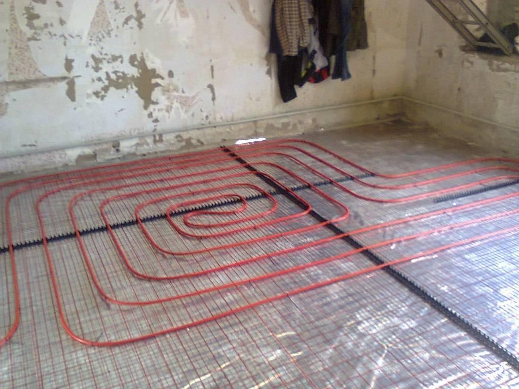 Какой теплый пол лучше для гаража и как сделать своими руками