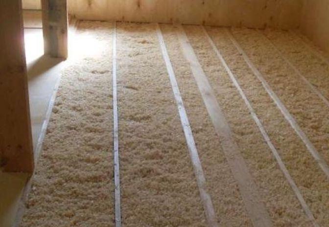 Сыпучий утеплитель: насыпной перлит и засыпная крошка для стен, пенокрошка для теплоизоляции потолка, опыт мастеров