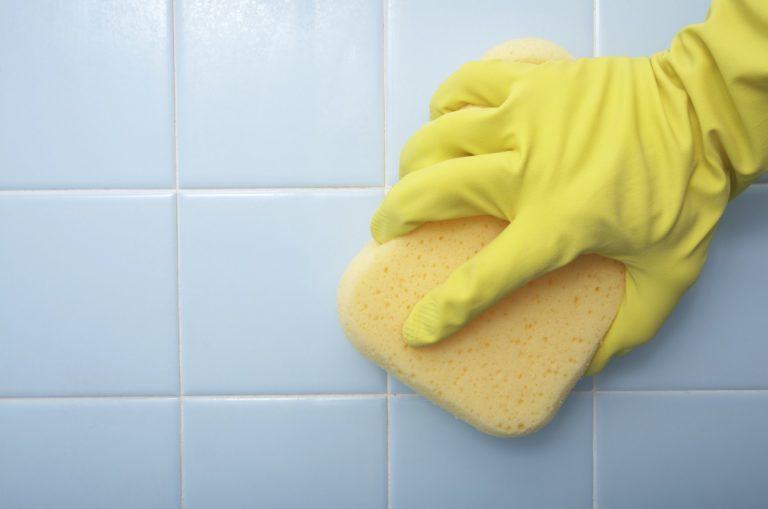 Как отмыть кафельную плитку на кухне от жира