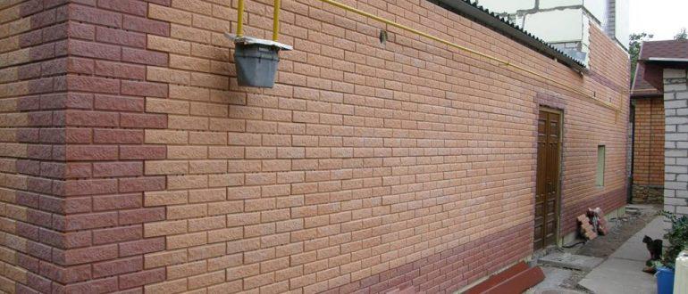 Фасадные панели под кирпич: облицовочные, пластиковые