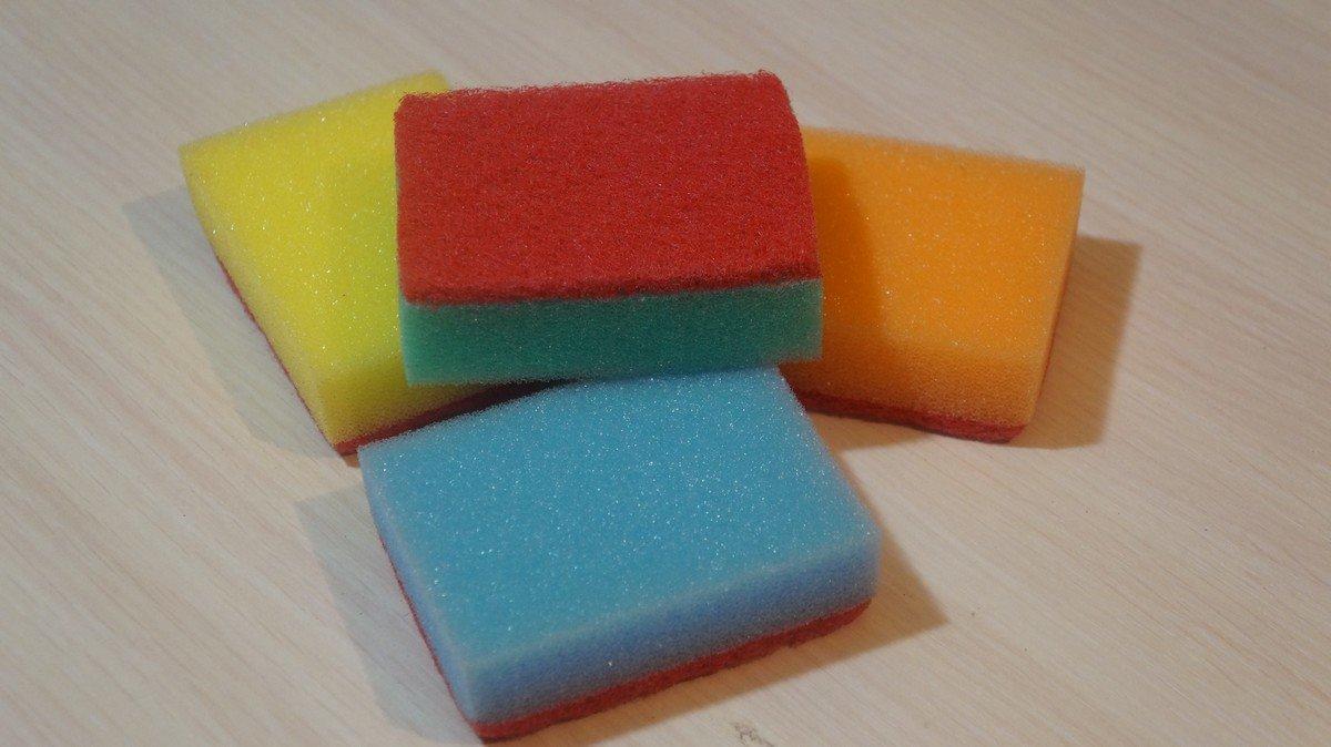 Что использовать вместо губки для посуды