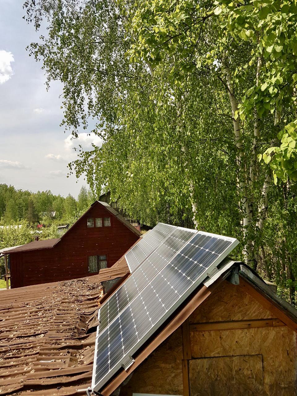 Установка и монтаж солнечных батарей