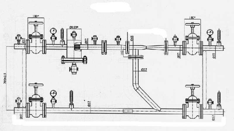 Элеваторный узел системы отопления: особенности, предназначение, схема пункта