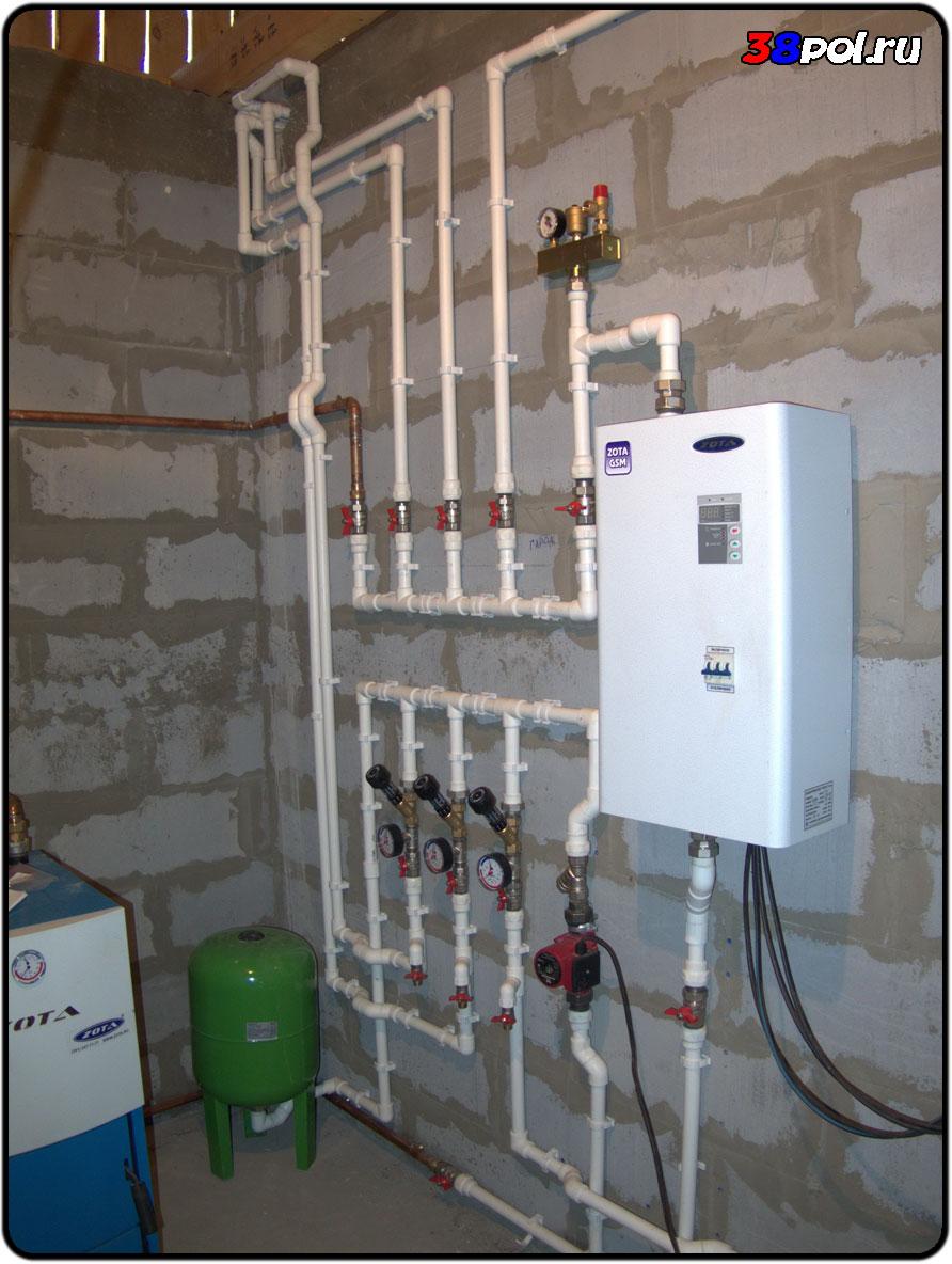 Электрокотел для теплого пола: подключение водяного и на антифризе