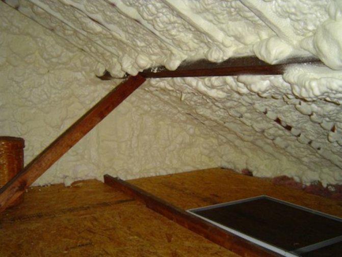 Особенности и утепление крыши пенополиуретаном: ваш дом под тёплой защитой