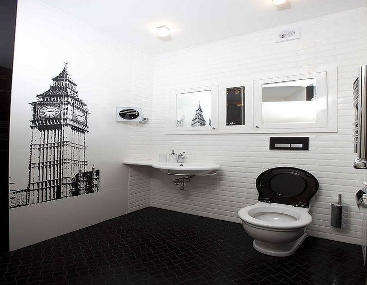 Черно белый интерьер ванной комнаты - подборка фото лучших идей черно белый интерьер ванной комнаты - подборка фото лучших идей