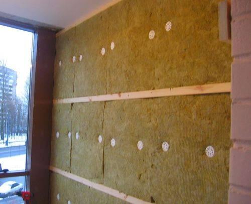 Утепление стен с помощью пробки