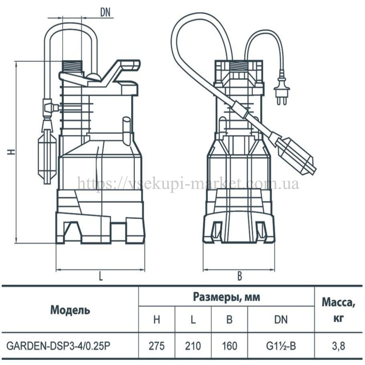 Универсальный дренажный насос для дачи: виды, рекомендации, популярные модели