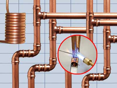 Обзор медных труб для отопления и водоснабжения