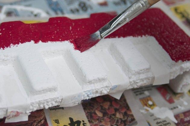 Чем можно покрасить пенополистирол — topsamoe.ru