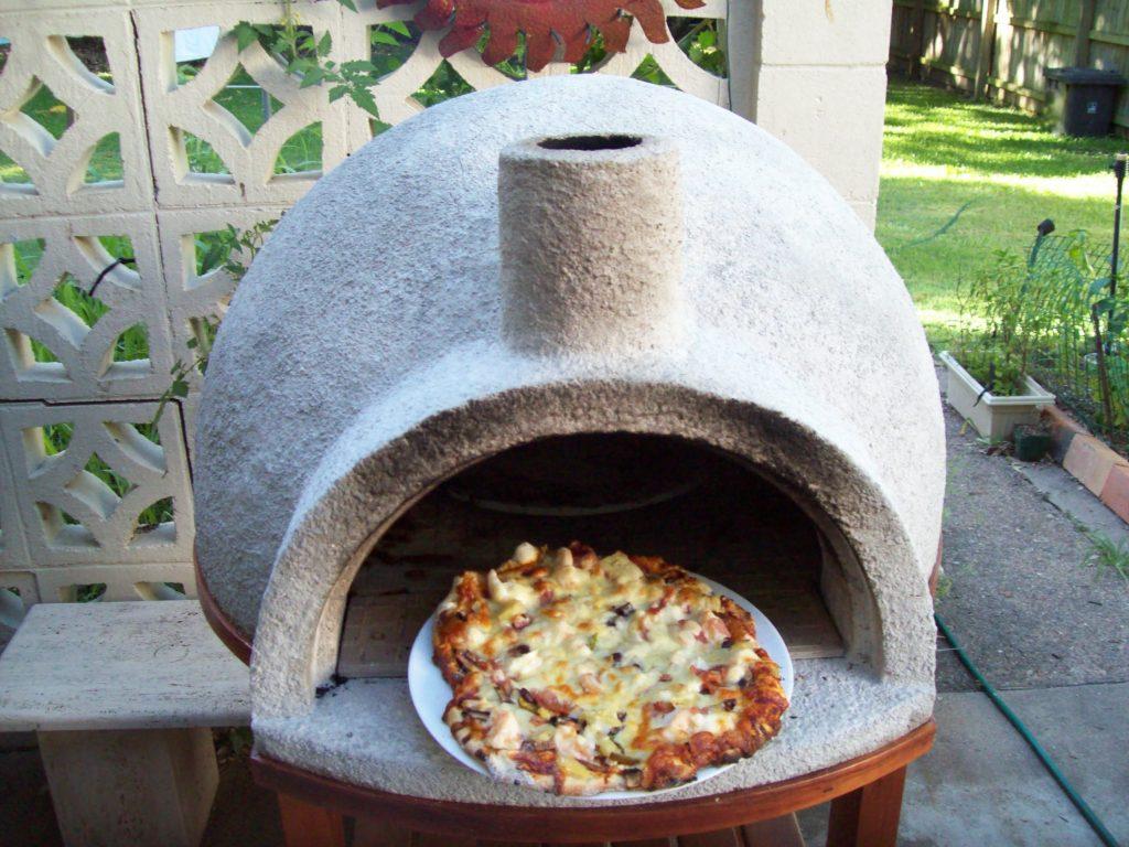 Как построить своими руками печь для пиццы на дровах