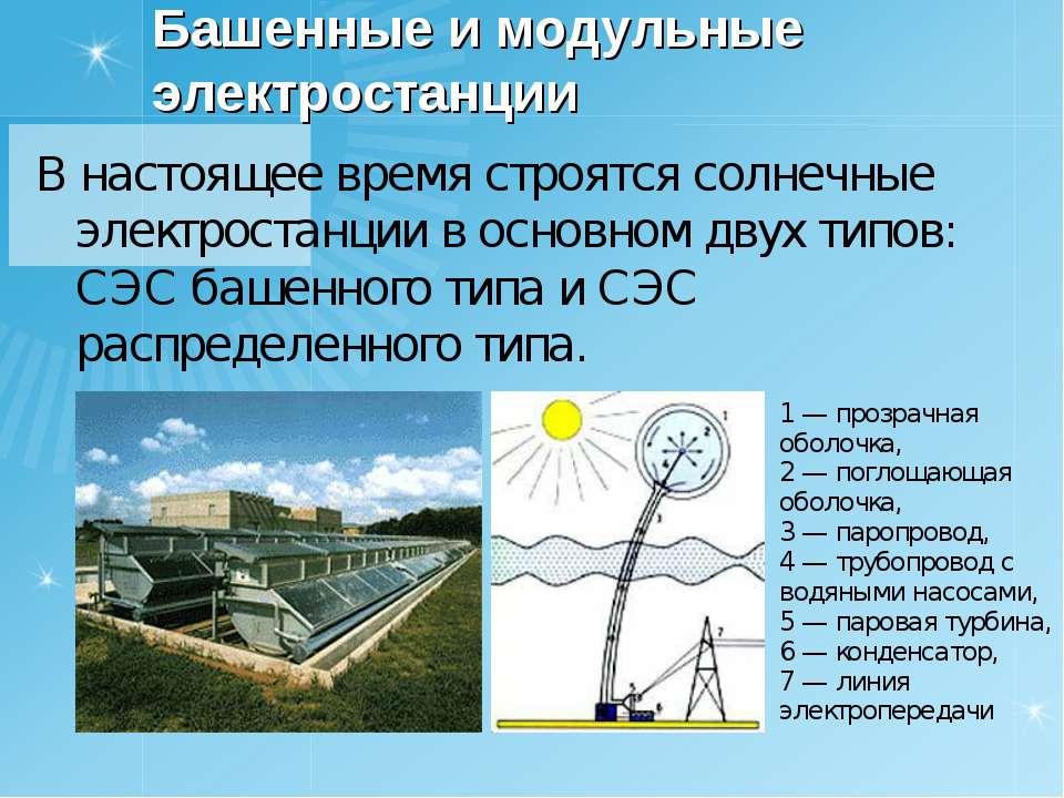 Энергия солнца. часть 1. системы преобразования солнечной энергии