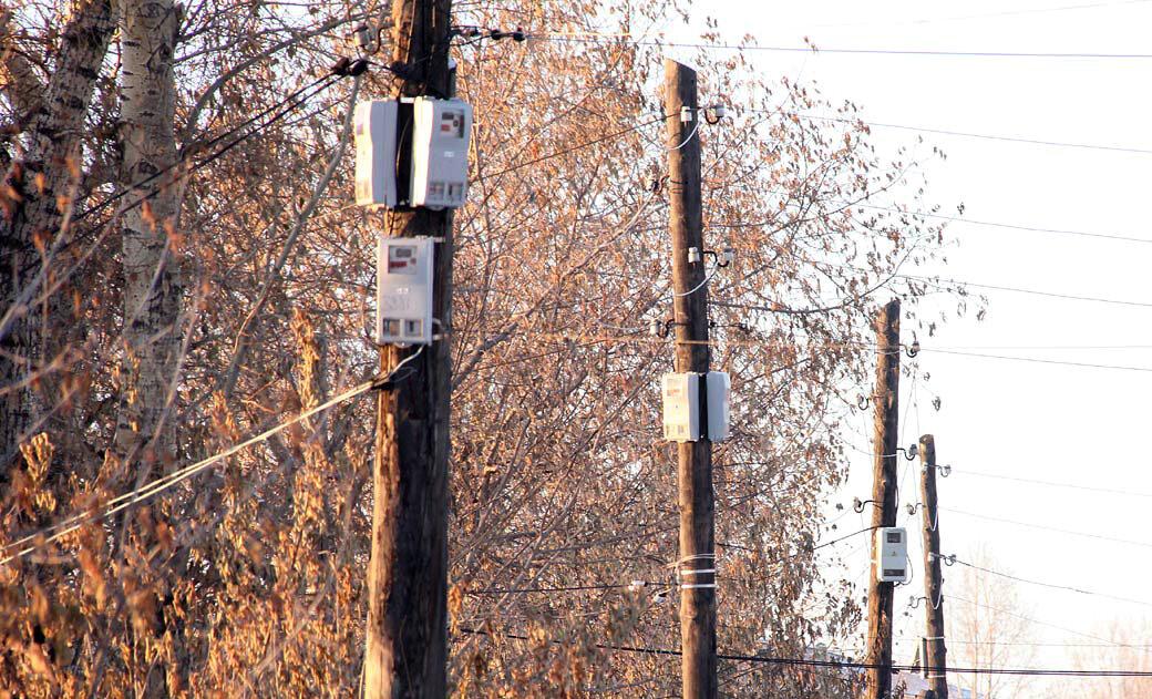 Как установить электросчетчик на столбе: правила установки на улице