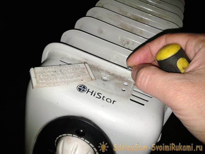 Ремонт масляного обогревателя своими руками: устройство и поиск поломок