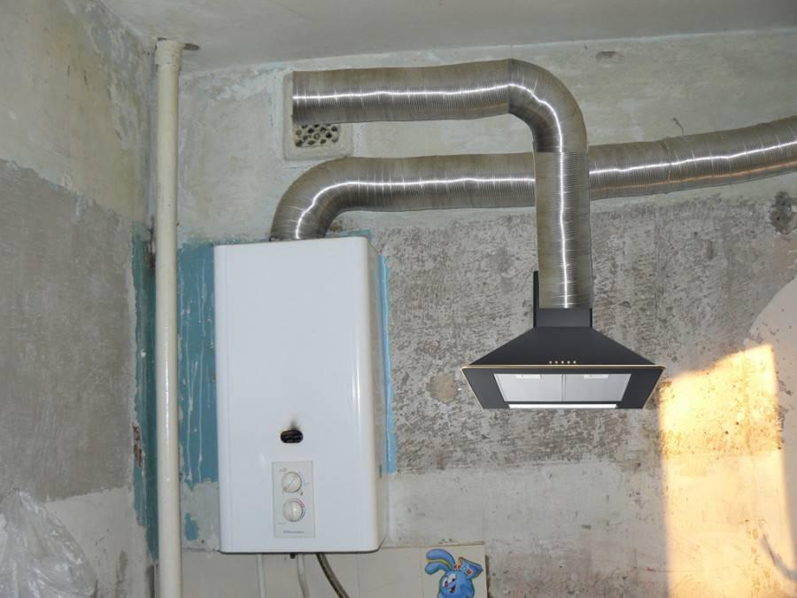 Установка газовой колонки в квартире своими руками — нормы, правила и пошаговая инструкция