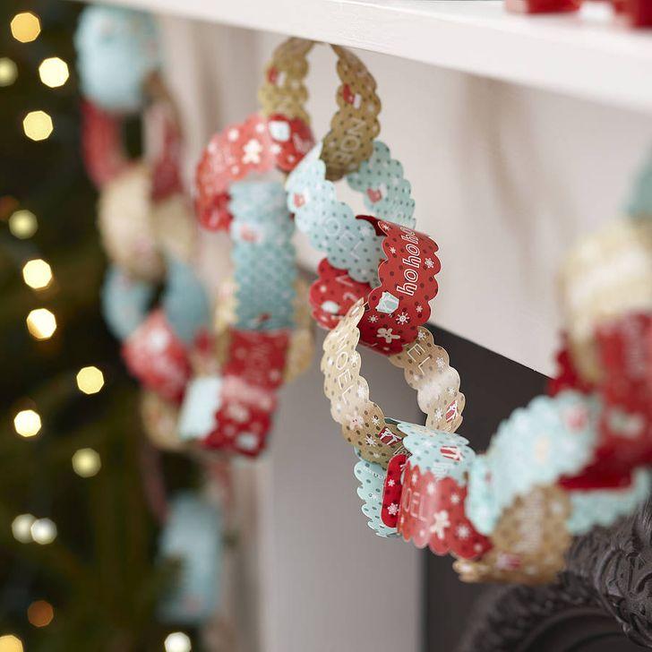 Гирлянда на новый год своими руками: что нужно, как сделать из бумаги и подручных материалов