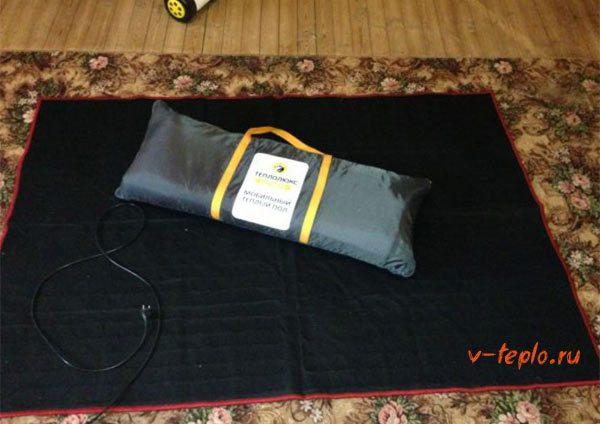 Мобильный теплый пол под ковер (теплолюкс, синплен): отзывы пользователей, характеристики, цены