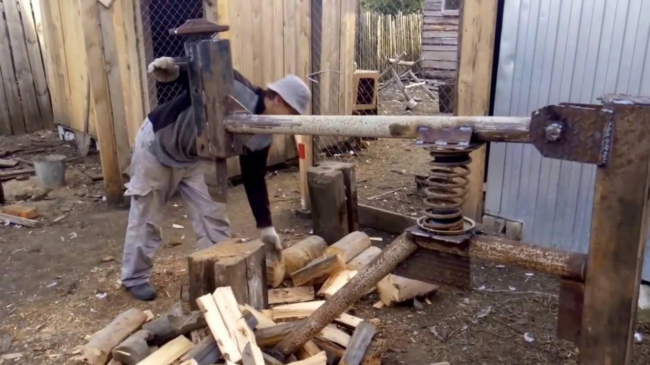 Как сделать колун для дров своими руками