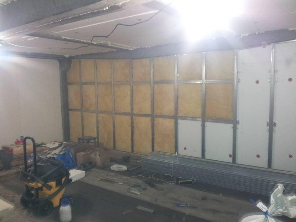 Как утеплить потолок в гараже: утепление изнутри, теплоизоляция пенопластом, минеральной ватой