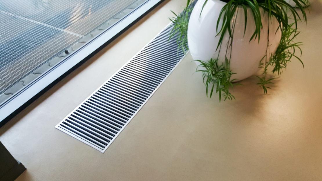 Внутрипольные конвекторы отопления. для чего нужны ?