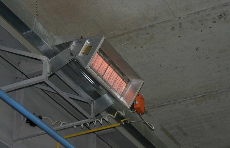Инфракрасные и газовые промышленные обогреватели