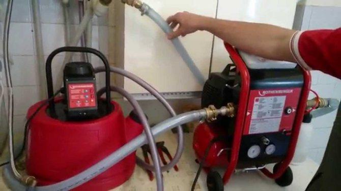 Способы промывки системы отопления квартир и частных домов, примеры составления акта и методы предотвращения появления загрязнений