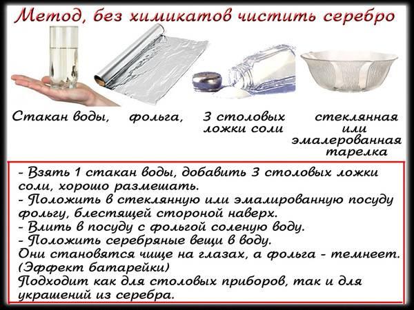 Как почистить серебро: эффективные способы чистки в домашних условиях