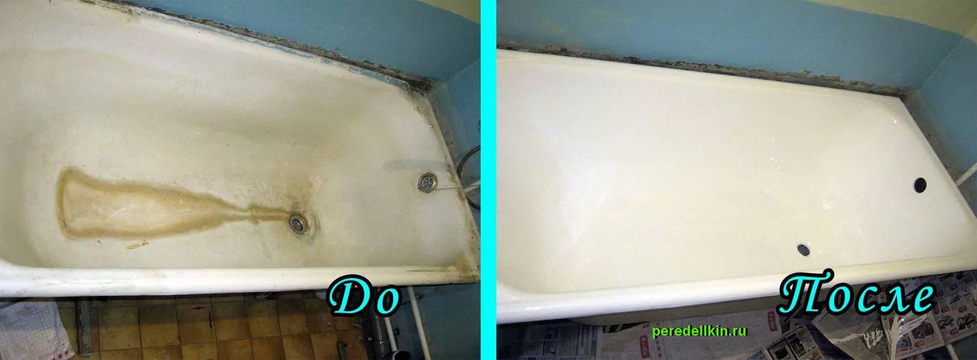Реставрация ванны своими руками: эффективная последовательность