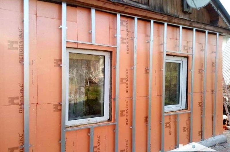 Утепление стен снаружи минватой под сайдинг - клуб мастеров
