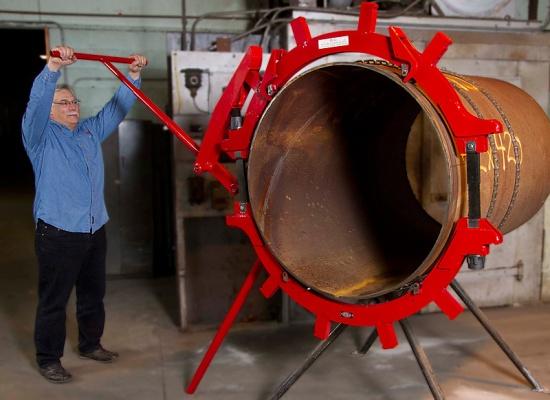 Труборез для стальных труб: цепной, ручной, самодельный своими руками, труборез по металлу большого диаметра, чертеж