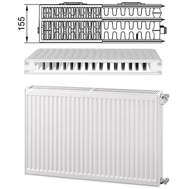 Стальные радиаторы kermi - сравнение приборов с чугунными и алюминиевыми аналогами