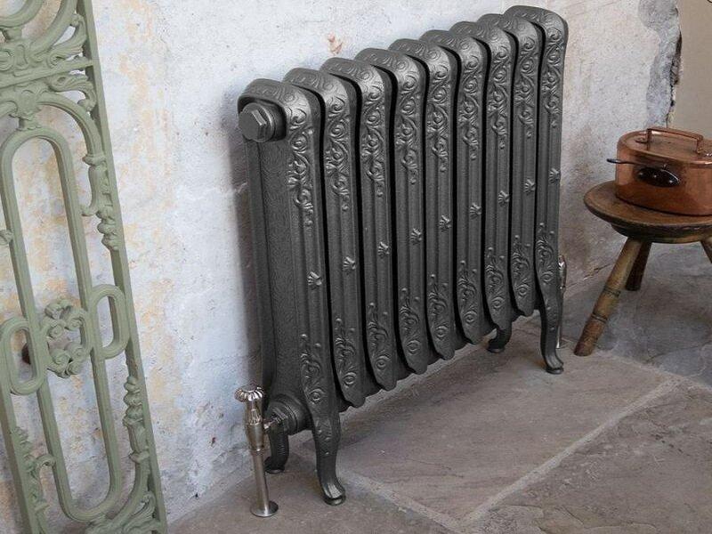 Ретро-радиаторы: чугунные отопительные приборы производства рф и стальные батареи отопления, изготовленные в россии изделия под старину и в барочном стиле