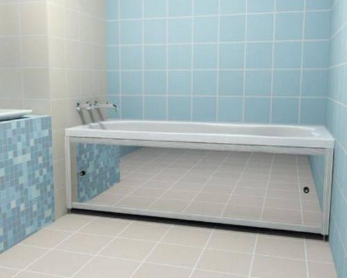 Установка экрана на акриловую ванну как собрать, закрепить и снять штатную фронтальную панель для обычной и угловой купели, все секреты монтажа моделей тритон