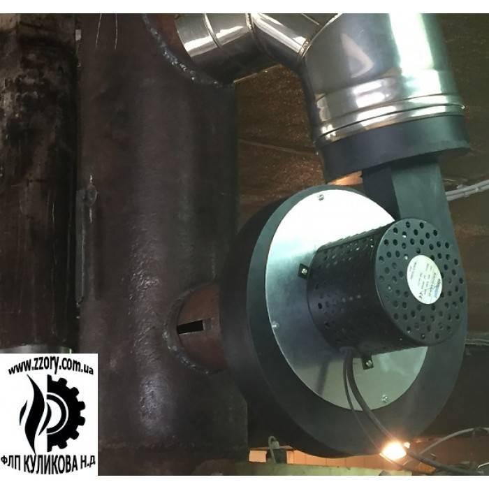 Дымосос для твердотопливного котла: установка вентилятора своими руками
